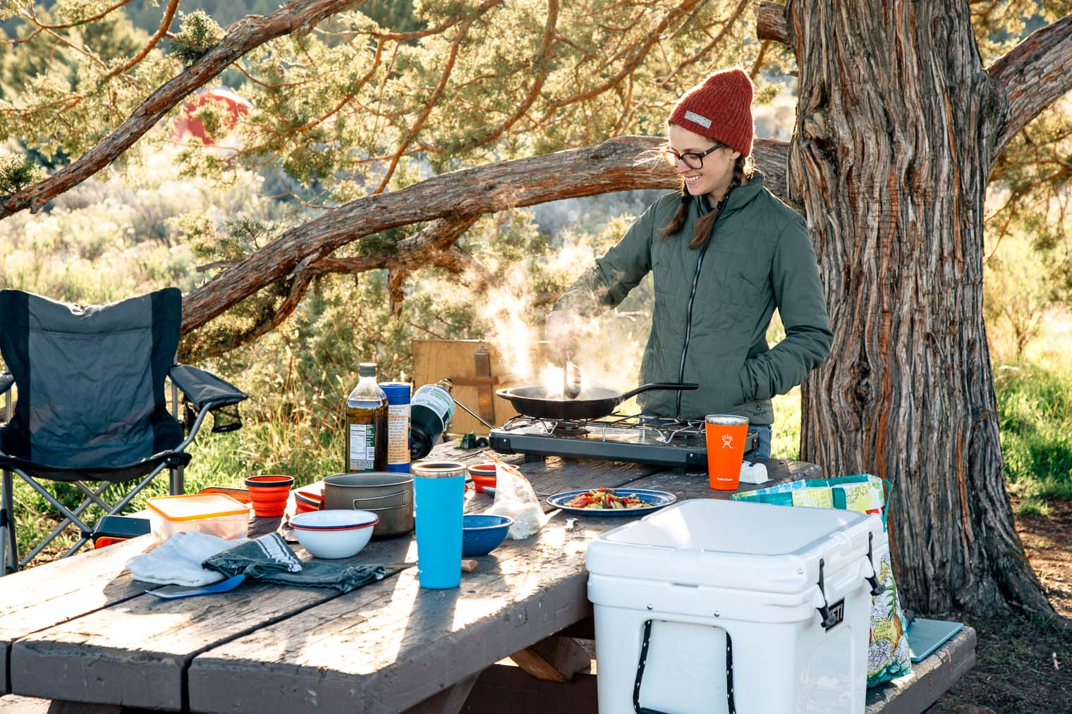 Camping Kitchen Essentials What Gear You Need To Cook While Car This Camp
