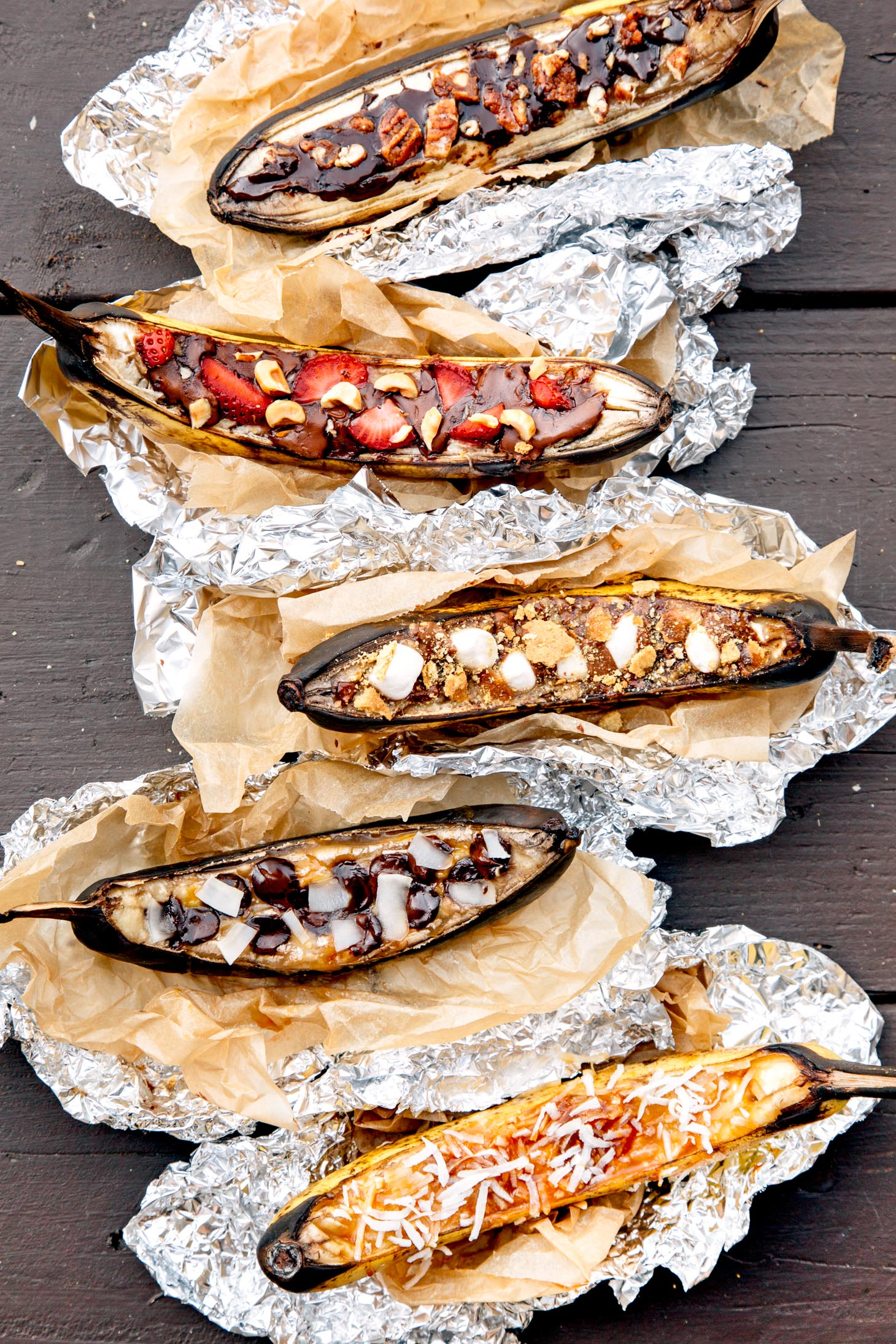 Learn How To Make Campfire Banana Boats