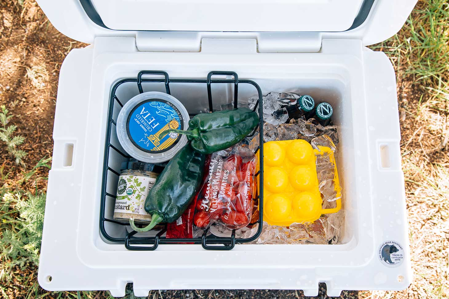 How to pack a cooler for camping
