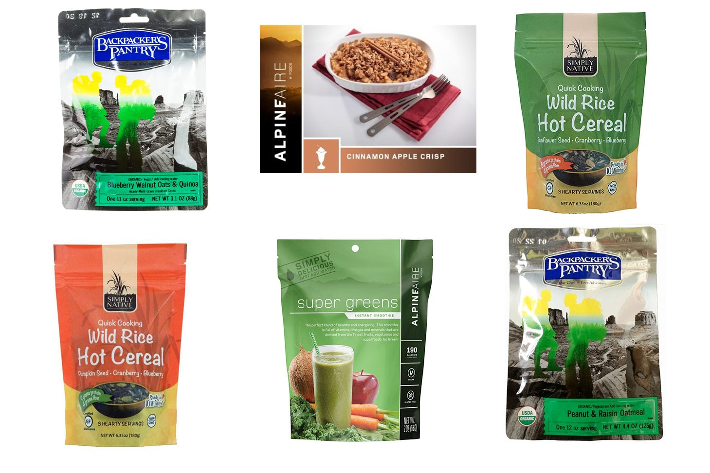 Vegan Backpacking Meals for Breakfast