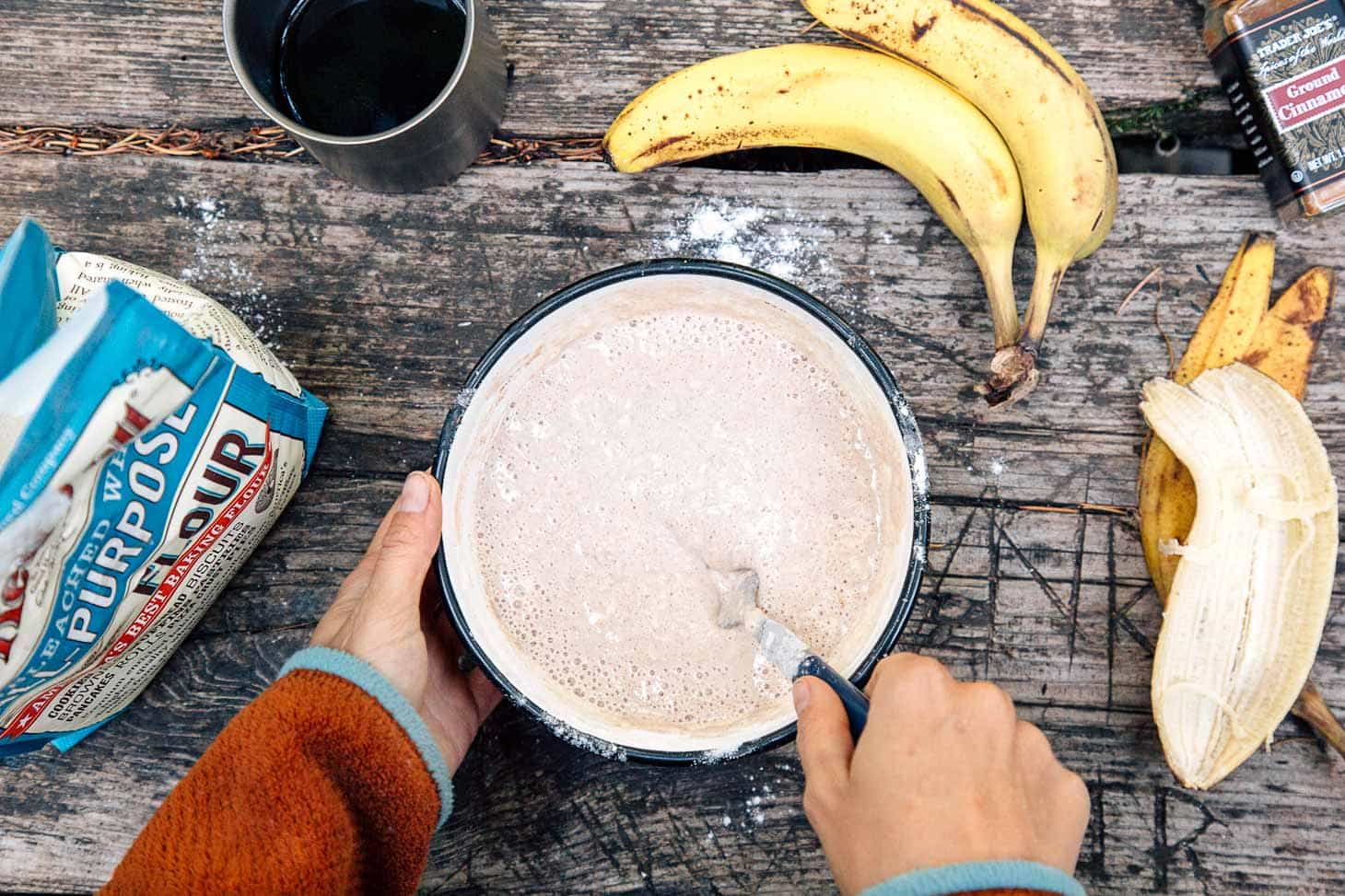 Banana Bread Pancakes are a delicious way to start your morning!