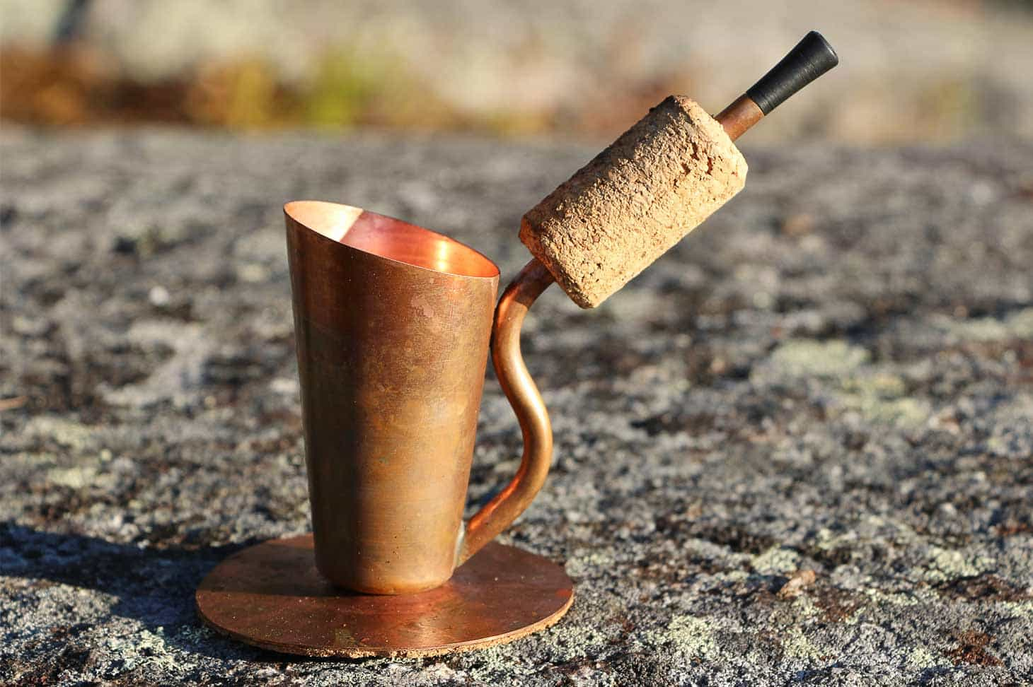 The Bripe Coffee Pipe - A Unique way to make espresso while camping or hiking