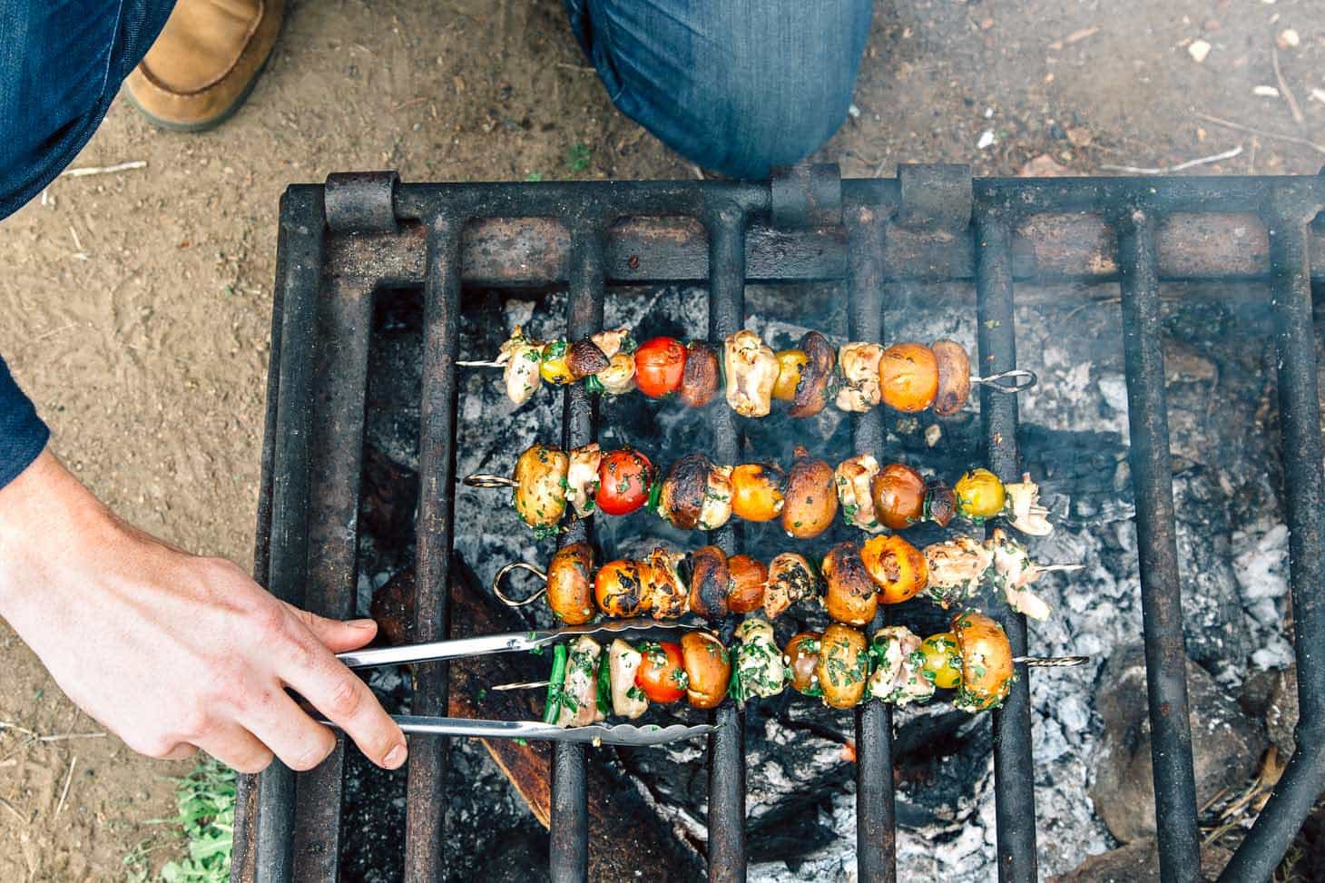 15 camping skewer recipes to make over your campfire fresh off the