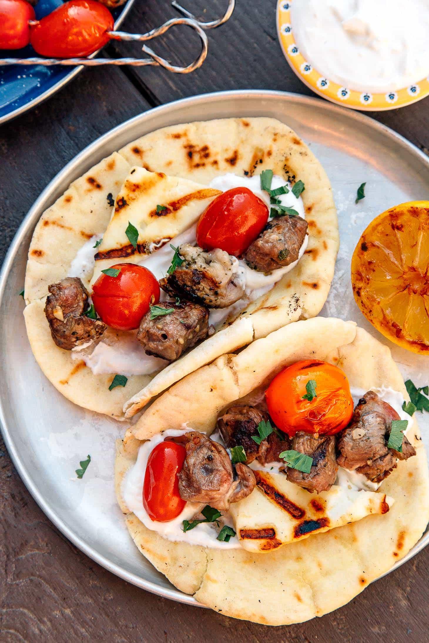 Grilled Gyros Kebab
