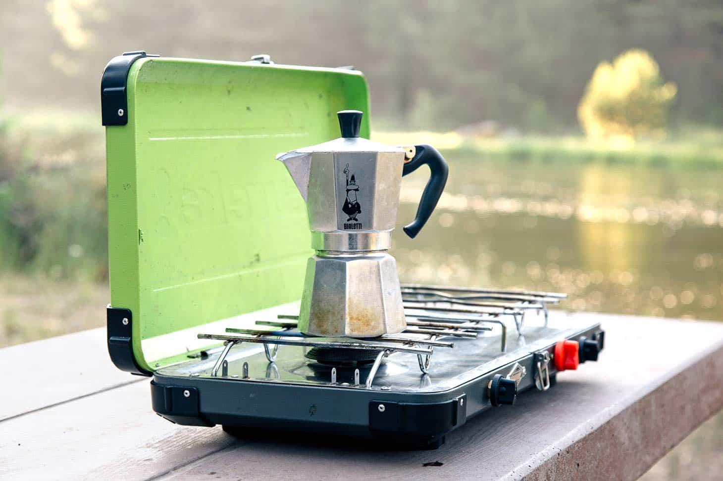 Moka Pot - Camping Stovetop Espresso Maker