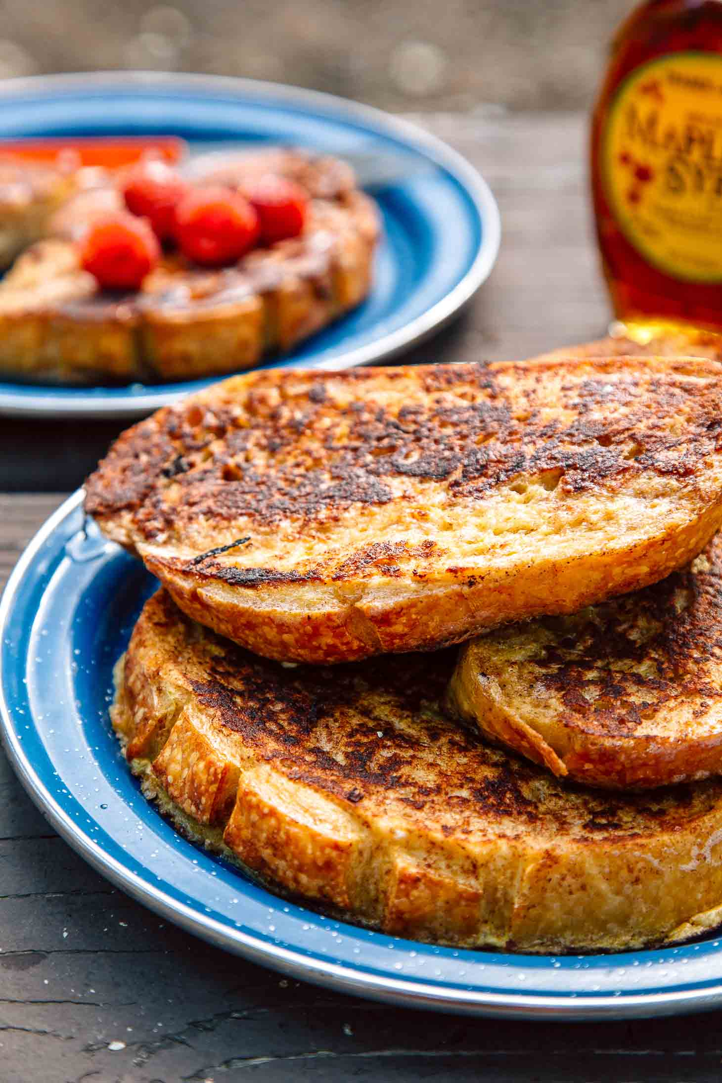 How To Make Perfect French Toast While Camping